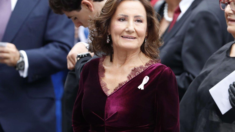 Paloma Rocasolano, en los Premios Princesa de Asturias. (EFE)