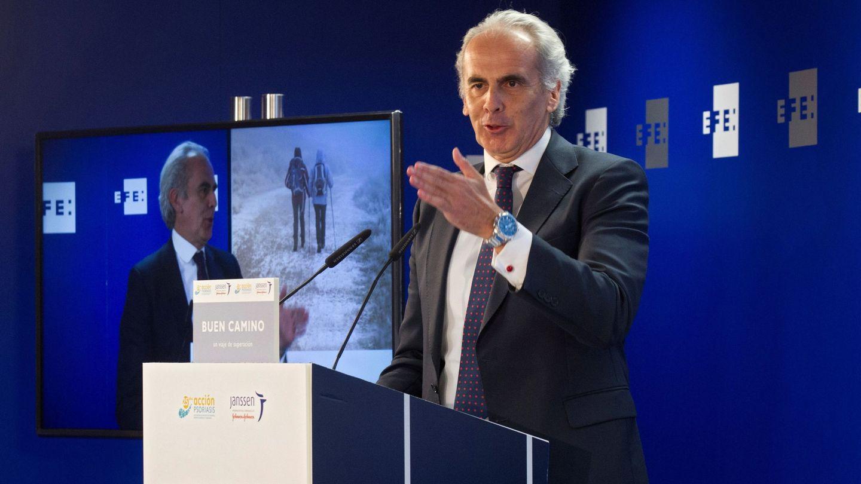 El consejero de Sanidad de la Comunidad de Madrid, Enrique Ruiz Escudero, presidente del PP de Pozuelo. (EFE)