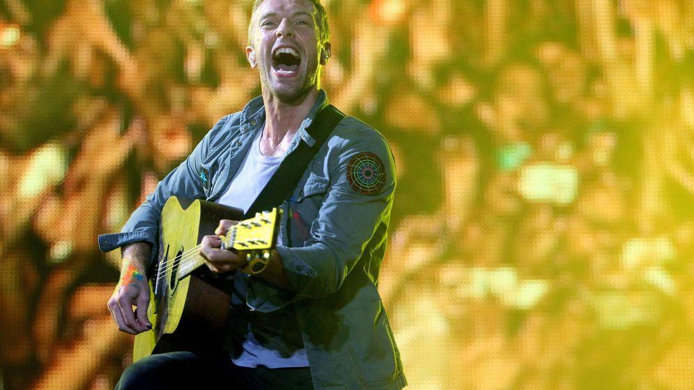 Foto: Un concierto de los británicos Coldplay (Efe)