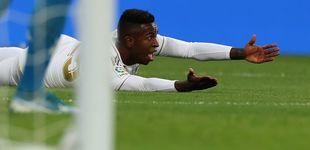 Post de La dudosa estrategia del Real Madrid con Vinícius y el cruel debate sobre él