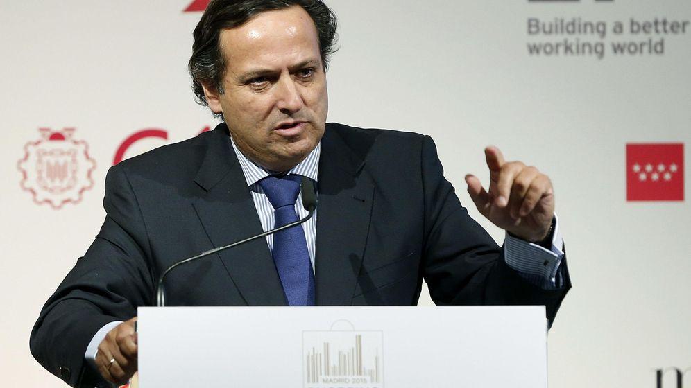 Foto: El presidente de la patronal madrileña CEIM, Juan Pablo Lázaro. (EFE)