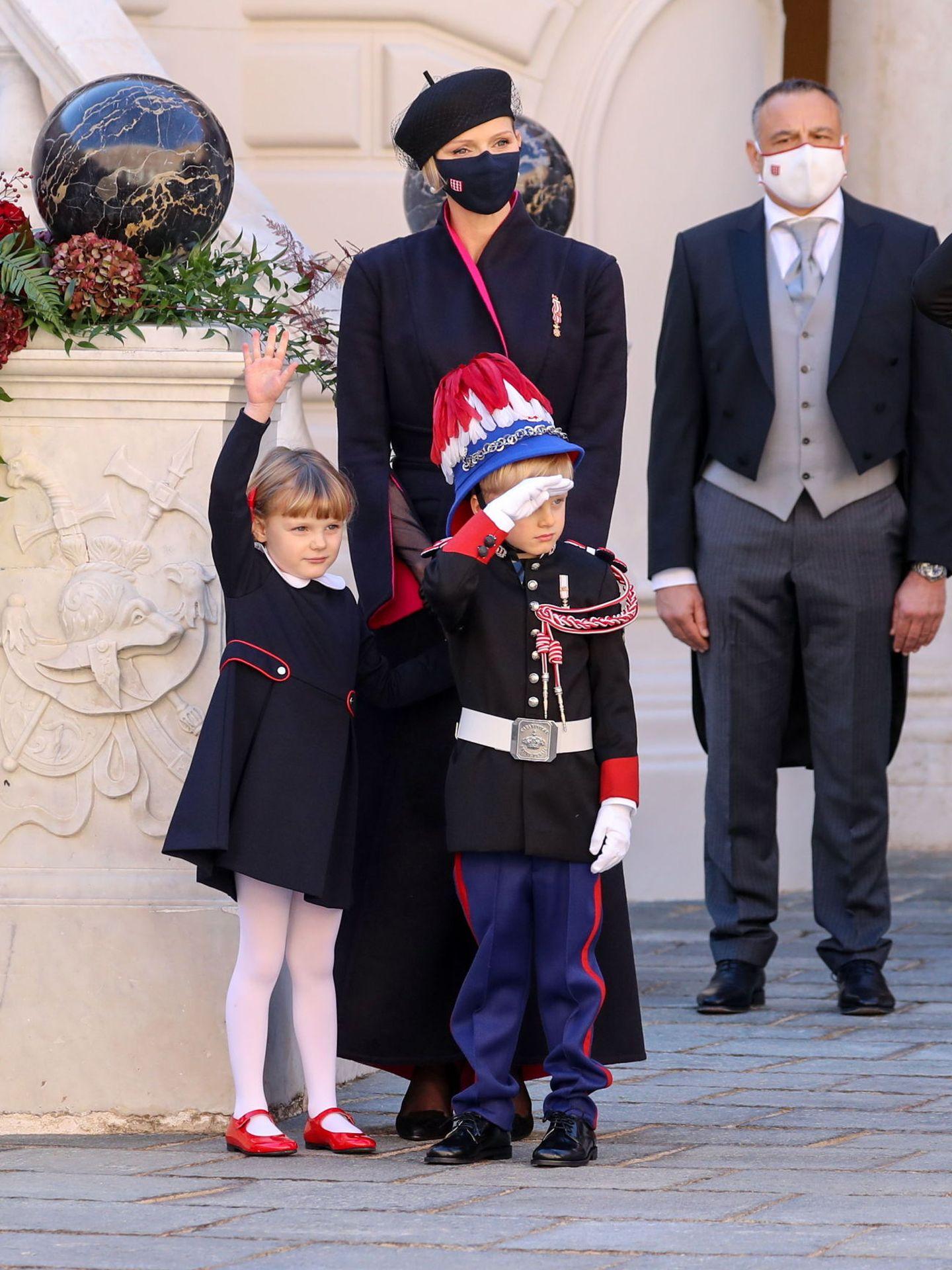Jacques y Gabriella, durante las celebraciones. (Reuters)