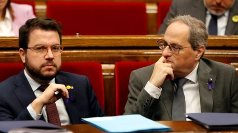 Torra y Aragonès intentan dar una imagen de unidad en la reconstrucción económica