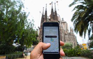 Alemania obliga a Uber a suspender su actividad