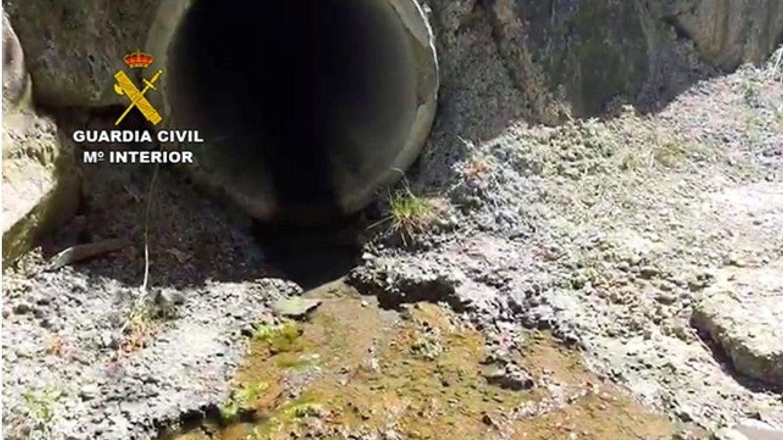 La cantidad de amoníaco encontrada era 220 superior a lo permitido (Guardia Civil)