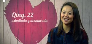 Post de Qing, una china lesbiana, en 'First Dates':