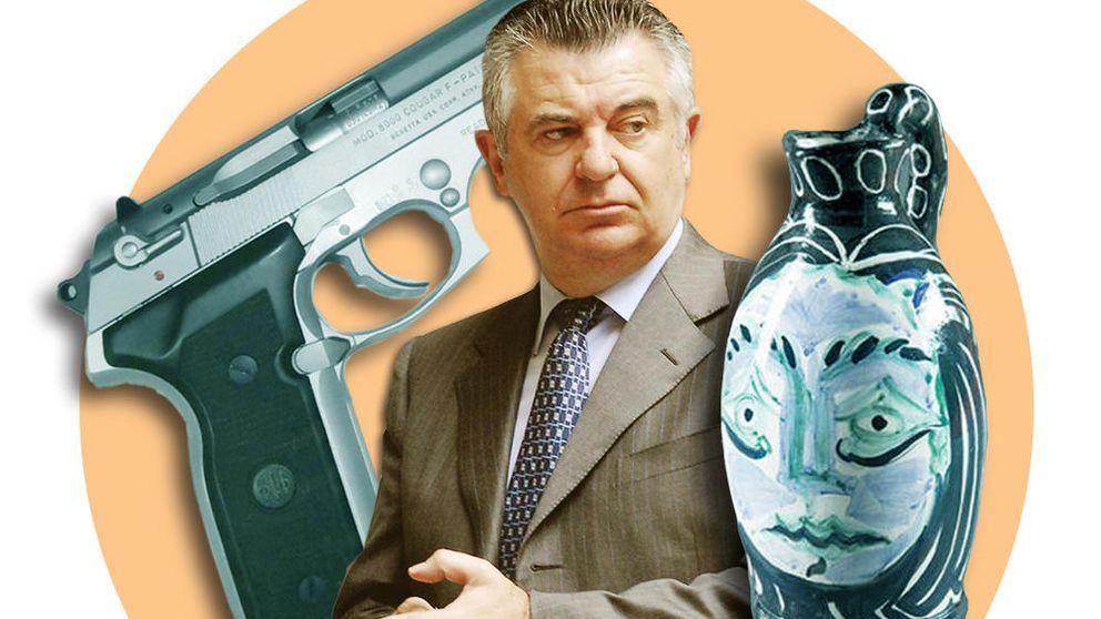 Fincas, 'picassos' y pistolas: a la venta los extravagantes objetos de Roca