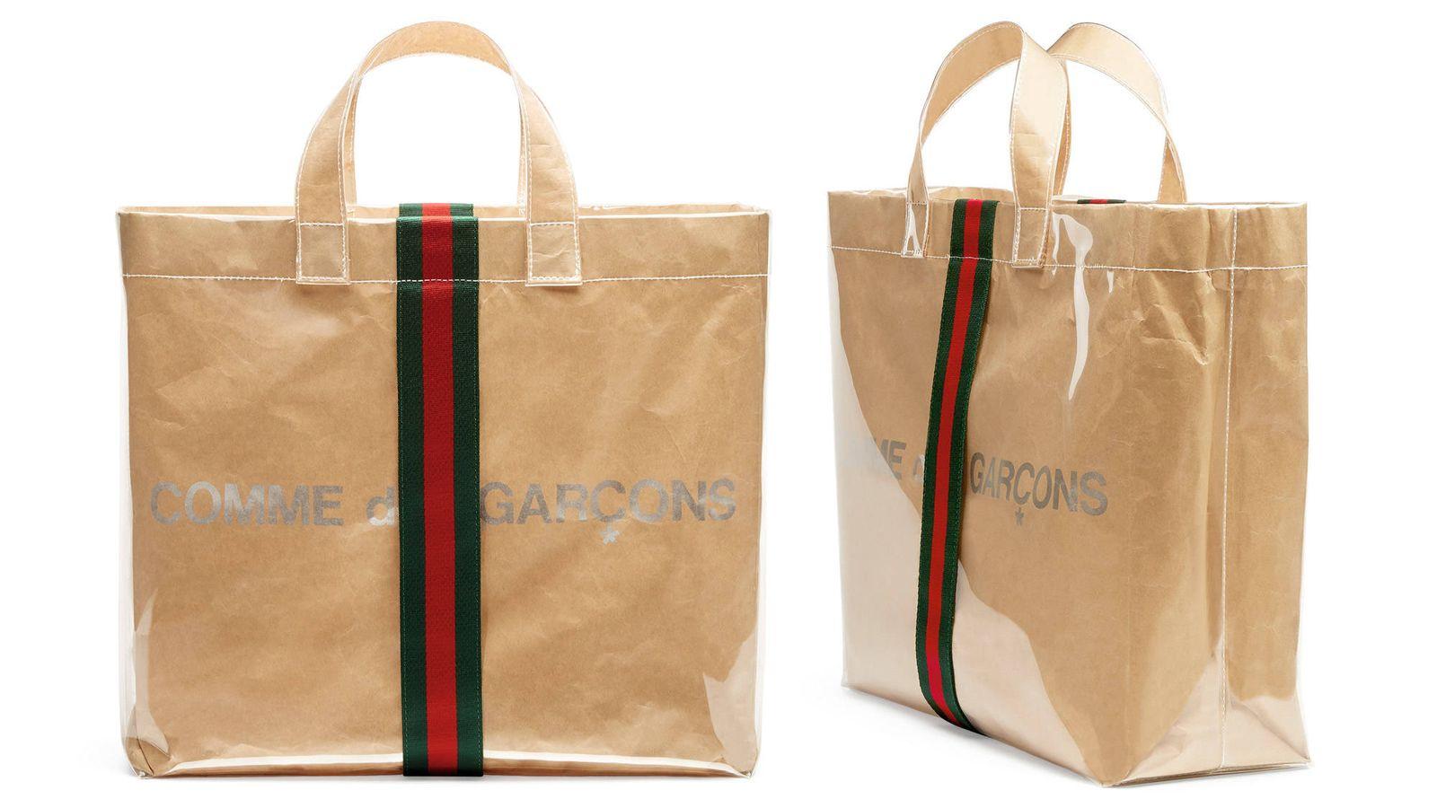 610c1fcda Moda hombre: Gucci colabora con Comme des Garçons y lanza un exclusivo bolso