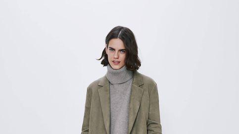 Causarás sensación las noches de invierno con este abrigo de ante de Zara de 30 euros