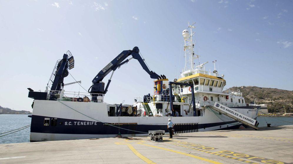 Foto: El buque Ángeles Alvariño en una imagen de archivo. (EFE)