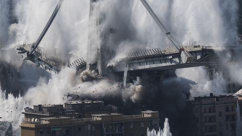 Demolición del puente Morandi en Génova