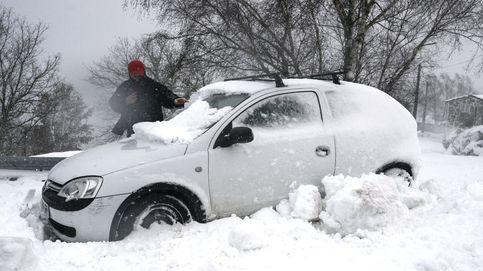 El temporal de nieve y hielo dificulta la circulación en Galicia