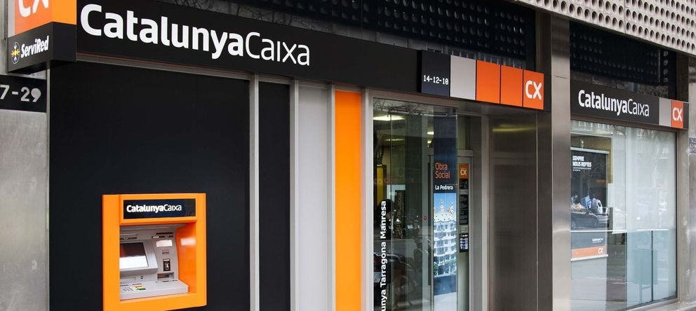 Foto: Cajero automático de CatalunyaCaixa (EFE)
