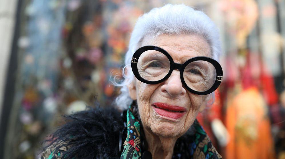 Foto: Iris Apfel, todo un icono de la moda. (Reuters)
