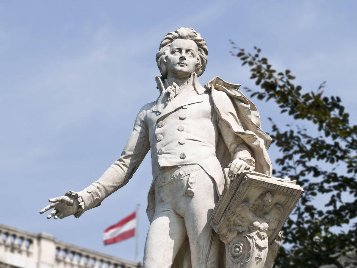 Foto: Estatua de Mozart en Viena. (iStock)