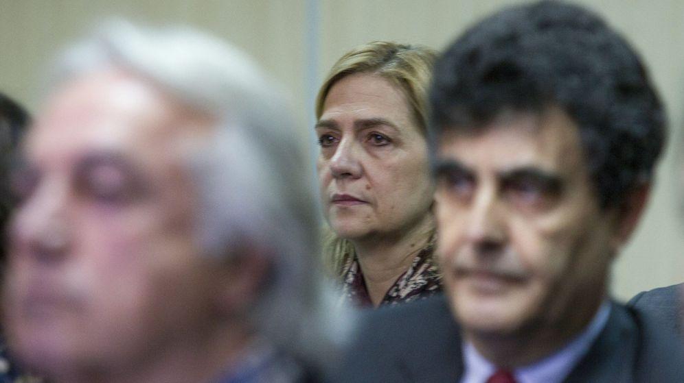 Foto: La infanta Cristina durante el juicio del caso Nóos. (EFE)