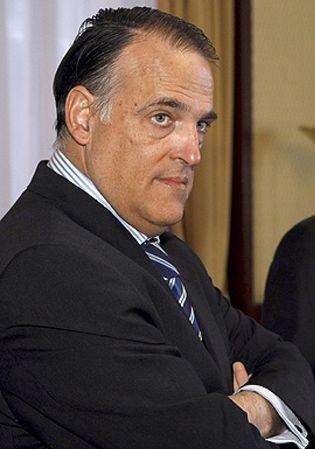 Foto: Javier Tebas, vicepresidente de la LFP: Sabemos que en España se están amañando partidos