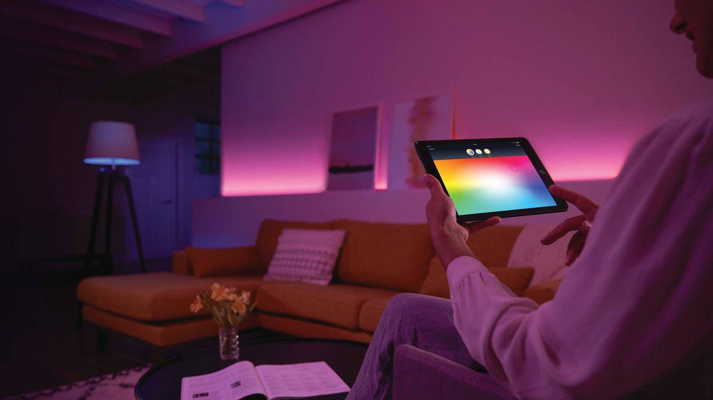 Foto: Philips Hue es el sistema de iluminación del momento.