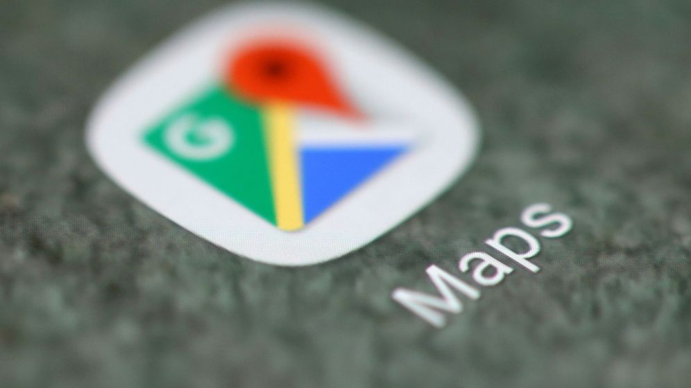Foto: Logo de Google  Maps. (Reuters)
