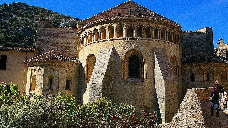 Iglesia de la abadía de Gellone. Foto: CC