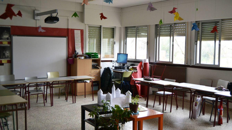 Foto: Una de las aulas de Trabenco. (Foto: M.Z.)