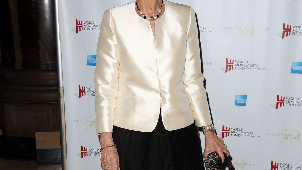 La Reina Sofía brilla en Nueva York para recoger un premio