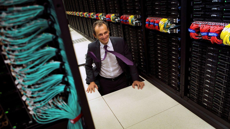 Pedro Duque, en una visita reciente al Marenostrum 4. (EFE)
