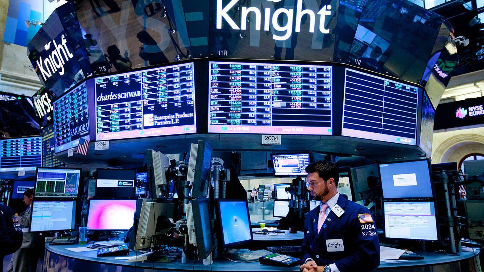 Foto: 45 minutos le bastaron a Knight Capital para perder 440 millones por un error informático. Foto: Jin Lee/Bloomberg.