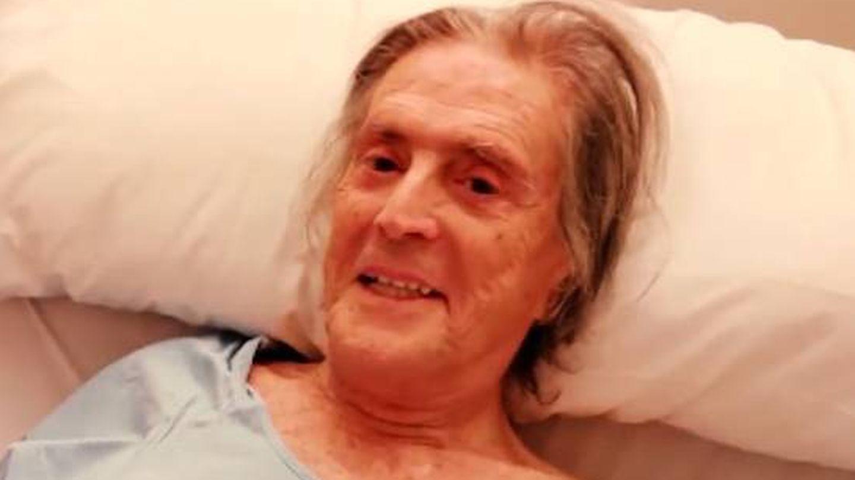 Jaime Ostos en el hospital. (Imagen cedida por la familia al programa 'Socialité')