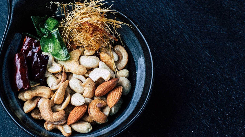 Los frutos secos te ayudan a no pasar hambre. (Mgg Vitchakorn para Unsplash)