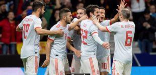 Post de Messi mira con envidia cómo España juega al fútbol que él más disfruta