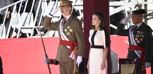 Post de El efecto óptico del nuevo look (con truco) de la reina Letizia
