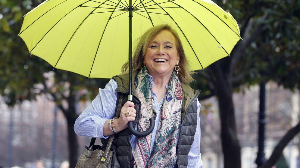 Foto: La presidenta del PP de Asturias, Mercedes Fernández.