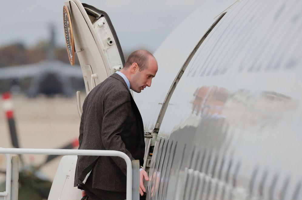 Foto: El asesor presidencial Stephen Miller. (Reuters)