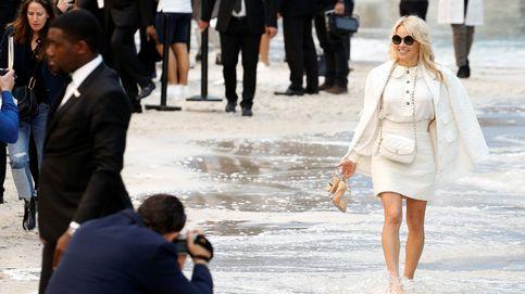 Pamela Anderson y su look posapocalíptico para ir al aeropuerto