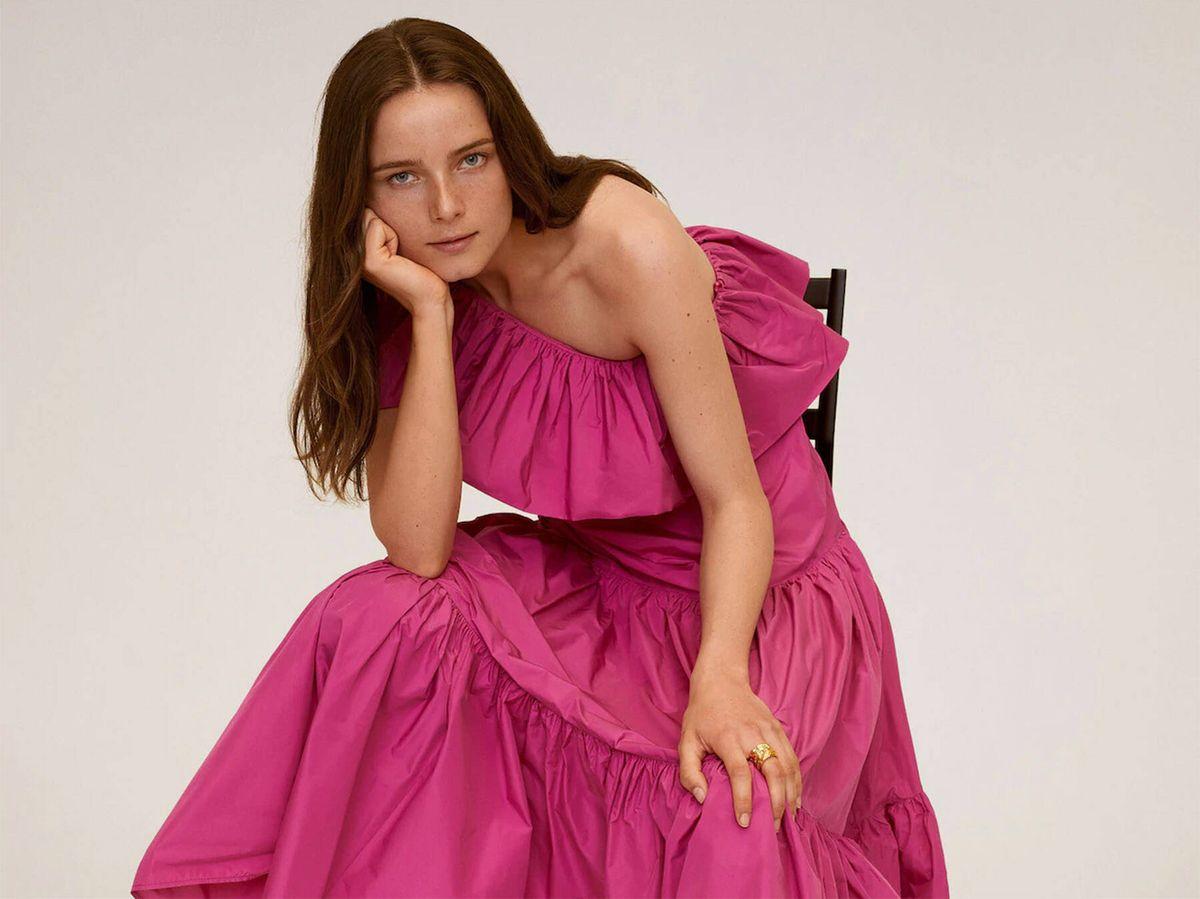 Foto: Vestido de Mango Outlet. (Cortesía)