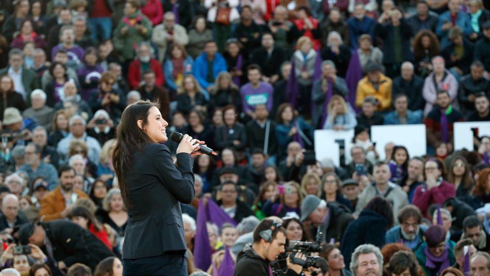Foto: La número dos de Unidas Podemos al Congreso por Madrid, Irene Montero. (Efe)