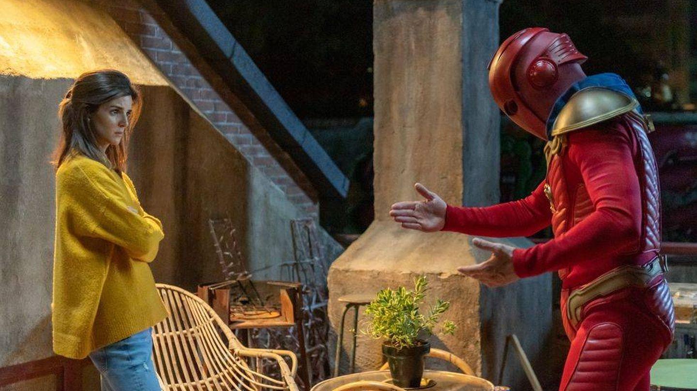Clara y Quim, en 'El vecino'. (Netflix)