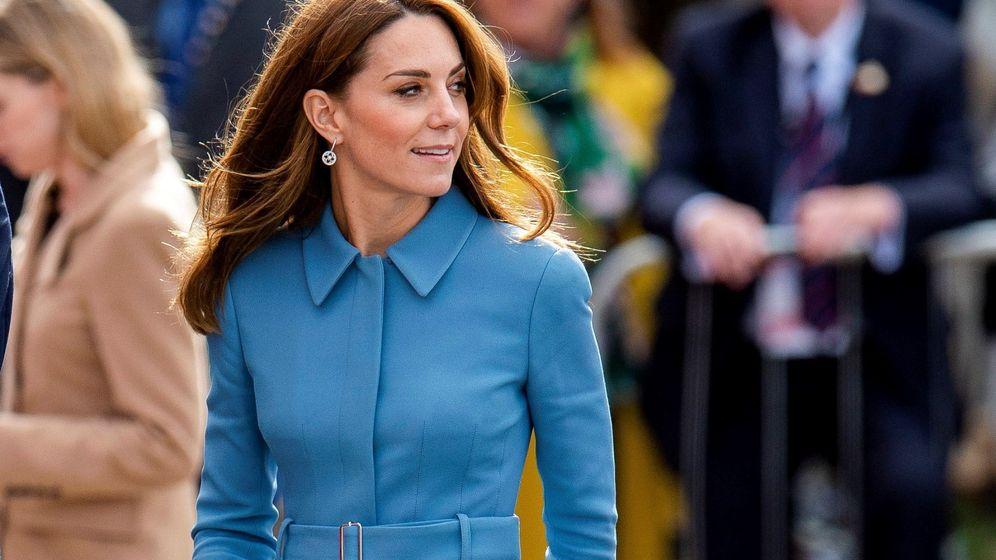 Foto: La duquesa de Cambridge, en su acto del jueves. (EFE)