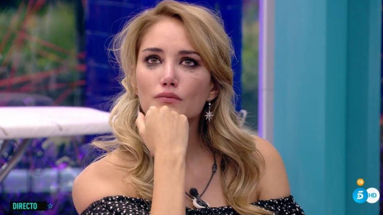 Alba Carrillo, en 'GH VIP 7'. (Telecinco)