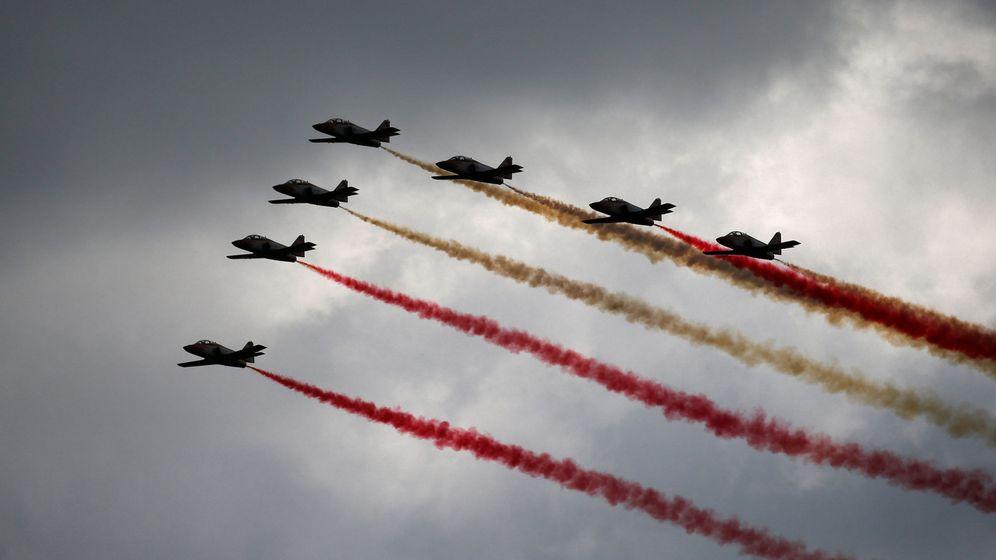 Foto: Patrulla Águila. (Reuters)