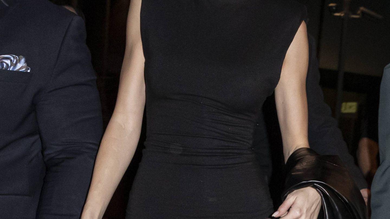 Kendall Jenner, en el desfile de Versace. (Cordon Press)