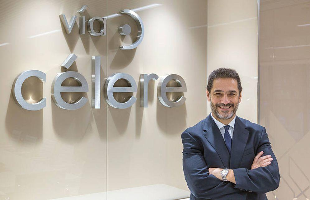 Foto: Juan Antonio Gómez-Pintado, presidente de los promotores de España, ha vendido su empresa, Vía Célere, a Värde.