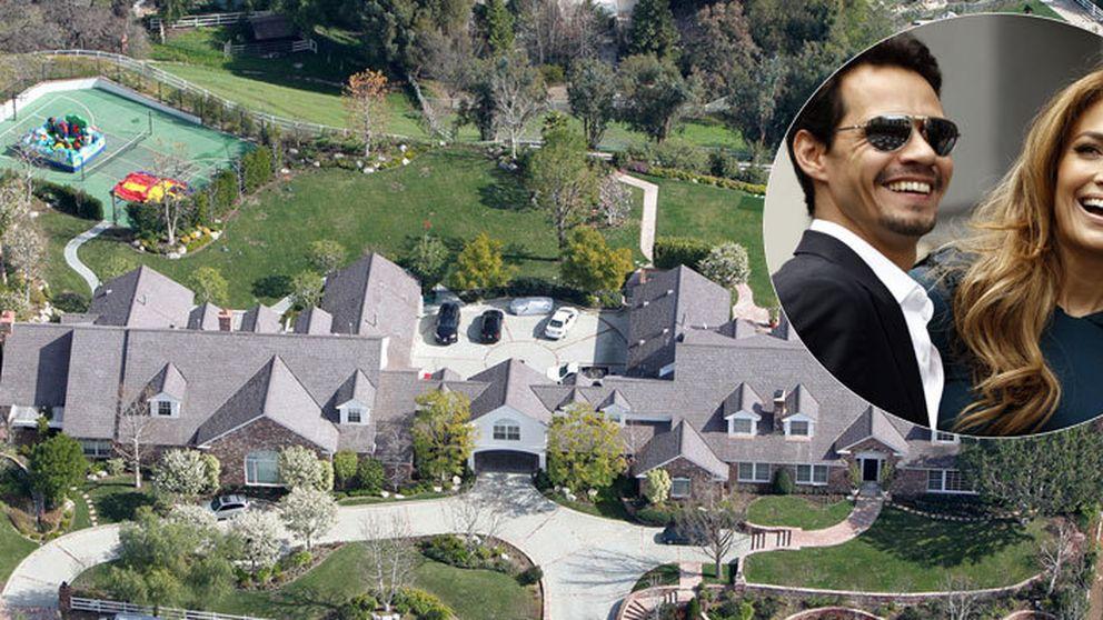 JLo pone a la venta la mansión que compró junto a Marc Anthony