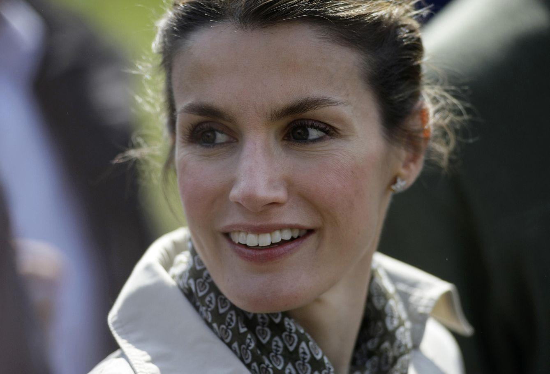 Foto: La Reina Letizia en una imagen de archivo tomada en 2010 (Reuters)