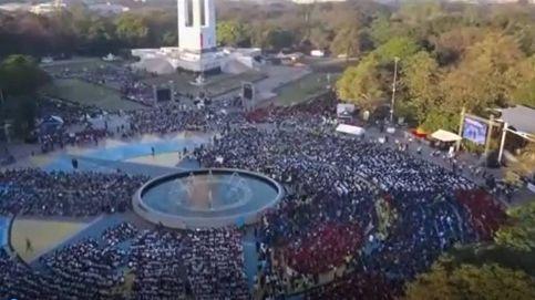 Una clase de dibujo colectiva... para 16.000 personas