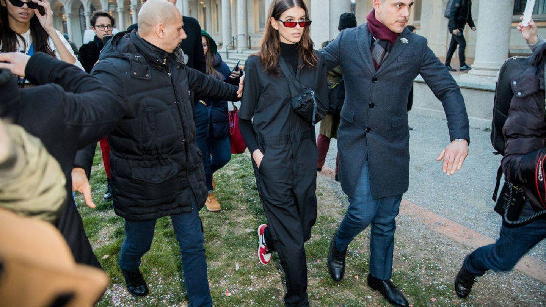 Este pasado febrero en Milán. (Getty)