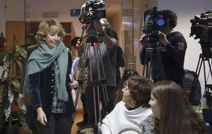Aguirre, la 'más popular' de Madrid, deja la patata a Rajoy