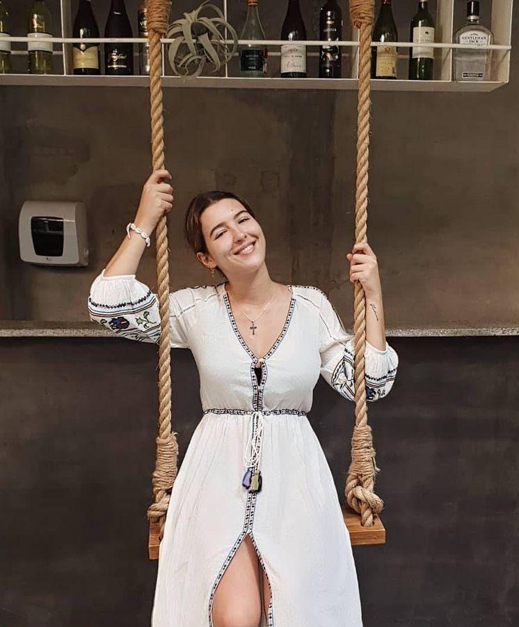 Foto: Alba Díaz en Bali con el vestido de Zara de nuestros sueños. (Instagram)