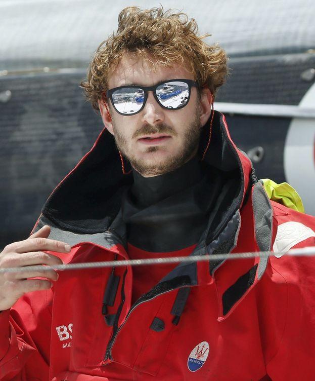 Foto: Pierre Casiraghi navegando en una imagen de archivo (Reuters)